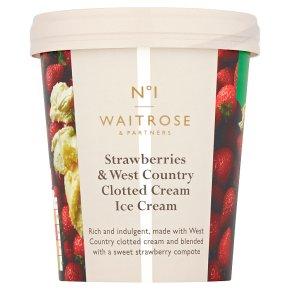 No.1 Strawberries & Clotted Cream Ice Cream