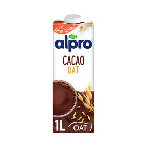 Alpro Cacao Oat No Added Sugars Long Life Drink