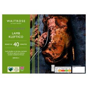 Waitrose Slow Cooked Lamb Kleftico
