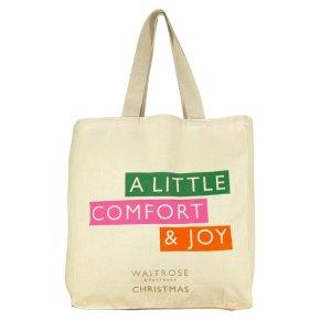 Waitrose Christmas Reusable Bag