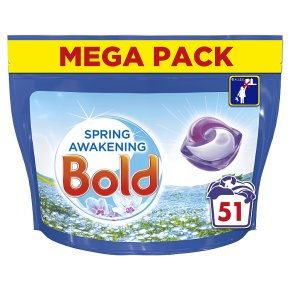 Bold All-in-1 Pods Spring Awakening with Lenor 51 Washes