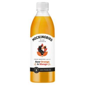 Mockingbird Raw Orange & Mango Smoothie