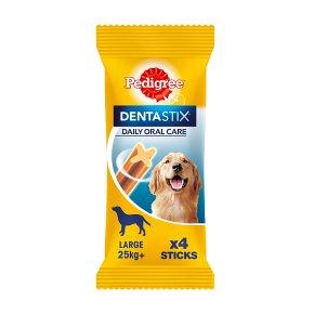 Pedigree Dentastix 4 Sticks Large 25kg+ Dog