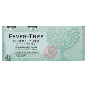 Fever Tree Refreshingly Light Elderflower Tonic