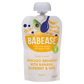 Babease Avocado Oats Banana Blueberry