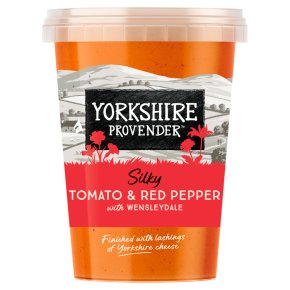 Yorkshire Provender Tomato & Pepper Soup with Wensleydale