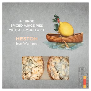 Heston from Waitrose Spiced Mince Pies with a Lemon Twist