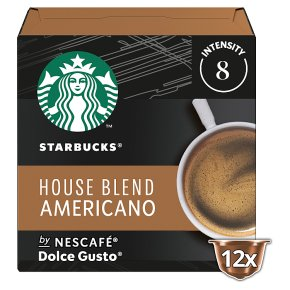 Starbucks Coffee House Blend Dolce Gusto Pods 12s