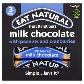 Eat Natural bars with peanuts and cranberries