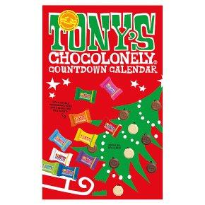 Tony's Chocolonely Countdown Calendar