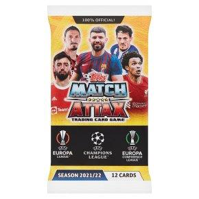 Match Attax 2021/22 Card Packets -