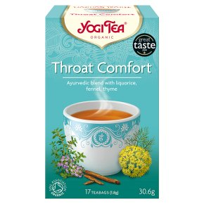 Yogi Tea Organic Throat Comfort 17 Tea Bags