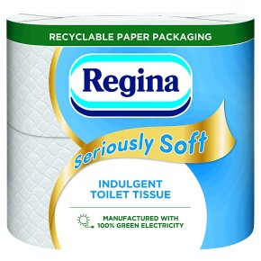 Regina Seriously Soft Toilet Tissue