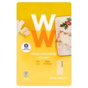 Weight Watchers Sliced Reduced Fat Cheese 8s