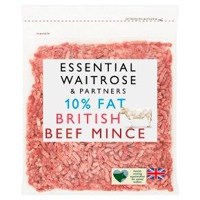 Essential 10% Fat British Beef Mince