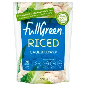Full Green Riced Cauliflower