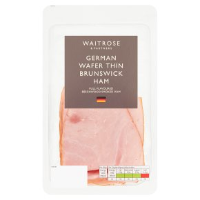 Waitrose German Wafer Thin Brunswick Ham