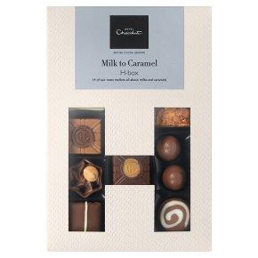 Hotel Chocolat Milk to Caramel H-box