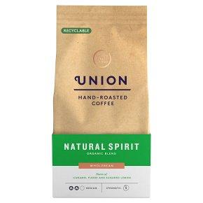 Union Coffee Natural Spirit Organic Wholebean