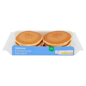 Waitrose Buttermilk Pancakes