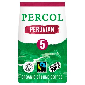 Percol Fairtrade Peruvian Organic Ground Coffee