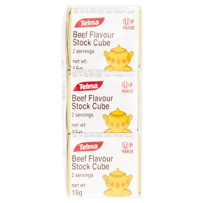 Telma Beef Flavour Stock Cubes