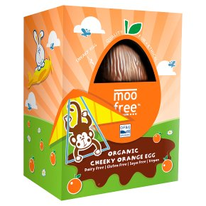 Moo Free Cheeky Orange Egg