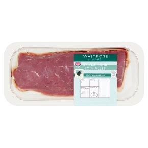 Waitrose British Lamb Loin Fillet
