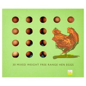 Range Farm Free Range Hen Eggs Mixed Size