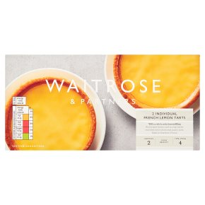 Waitrose 2 French Lemon Tarts