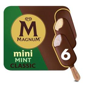Magnum Mini Classic & Mint Ice Creams
