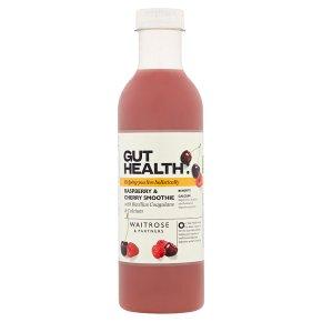 Waitrose Gut Health Raspberry & Cherry Smoothie