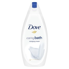 Dove Caring Bath Indulging Cream