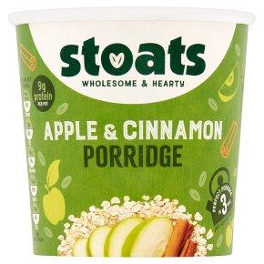Stoats Apple & Cinnamon Porridge