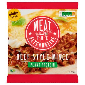 Meet The Alternative Beef Style Mince Made with Soya