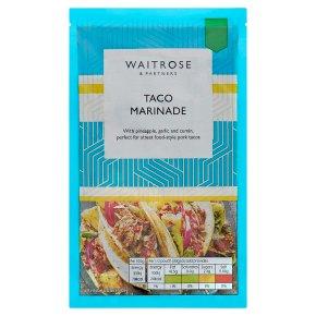 Waitrose Taco Marinade