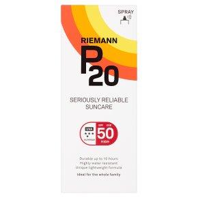 P20 SPF 50 Spray Seriously Reliable