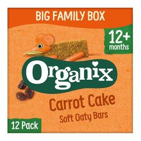 Organix Carrot Cake Oat Snack Bars