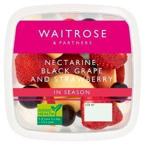 Waitrose Nectarine, Grapes & Strawberries