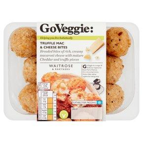GoVeggie: Truffle Mac & Cheese Bites