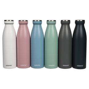 Sistema 500ml Stainless Steel Bottle