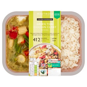 Calorie Controlled Green Thai Chicken Curry With Rice