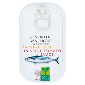 Essential Mackerel Fillets in Spicy Tomato Sauce