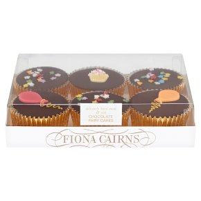 6 Chocolate Fairy Cakes