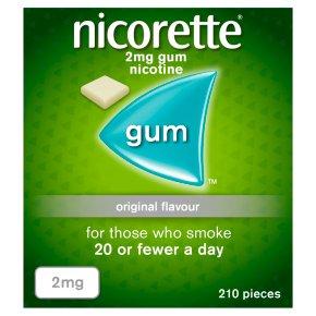 Nicorette Original Gum 2 mg