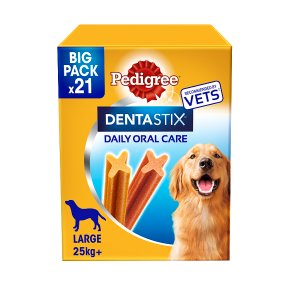 Pedigree Dentastix 21 Sticks Large 25kg+ Dog