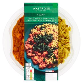 Waitrose Vegan Sweet Potato & Chickpea Curry