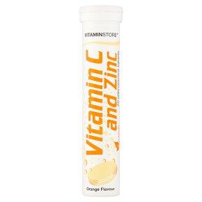 Vitamin Store Vitamin C & Zinc