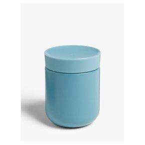 John Lewis Insulated Soup Pot Blue