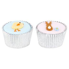 Mixed Fondant Cupcakes